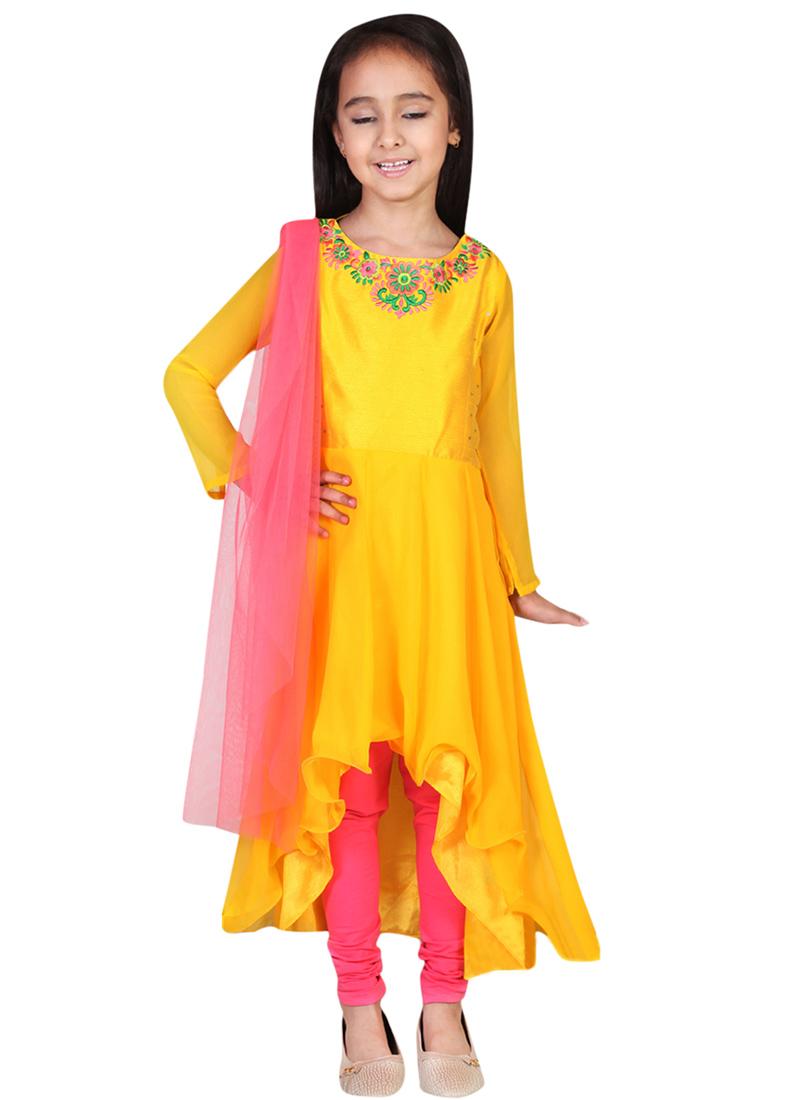 Stylish Anarkali Frocks Designs For Baby Girls 2017 Pk Vogue