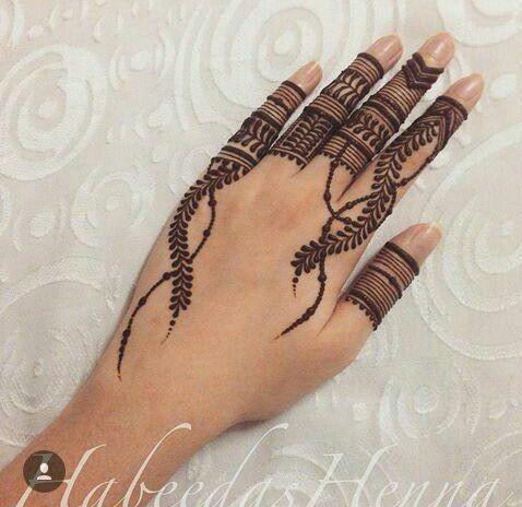 finger mehndi designs 17 pk vogue