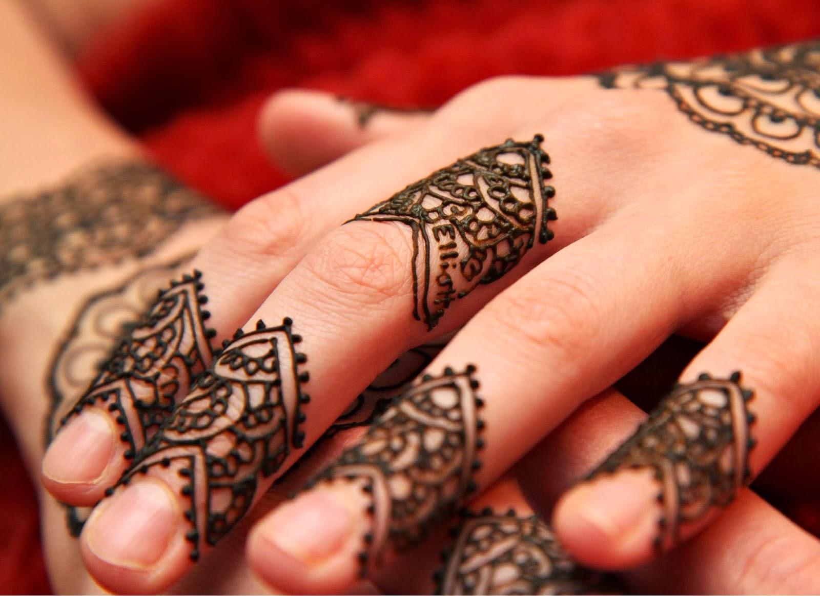 stylish mehndi designs for finger pk vogue