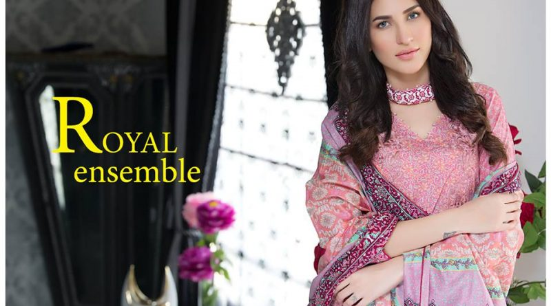 10c55a5480 Sahil Embroidered Lawn Collection 2017 By ZS Textile - PK Vogue