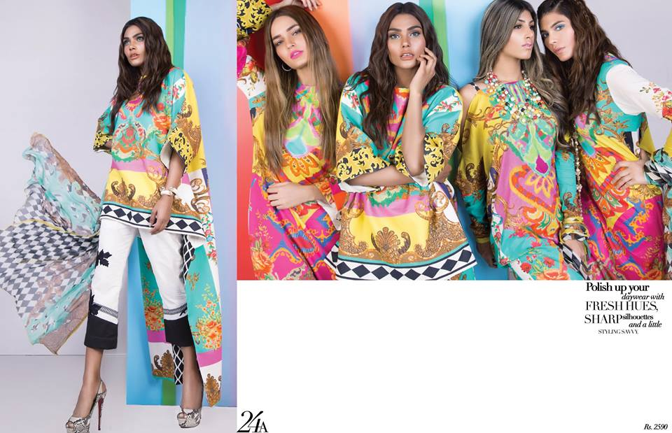 Sana Safinaz Muzlin Summer Lawn Collection 2017 18 Vol 1