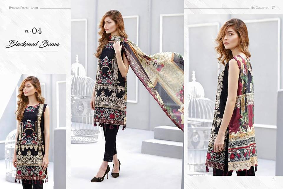 Chantelle By Baroque Embroidered Chiffon Collection Vol-1 2016