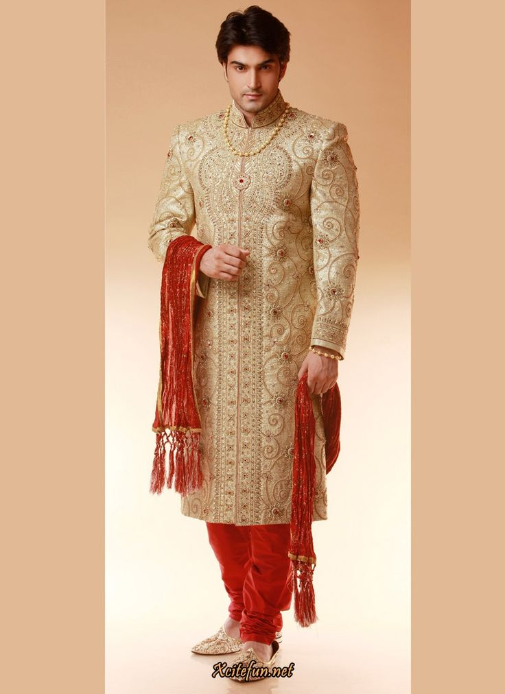 Stylish And Unique Wedding Sherwani Designs 2018