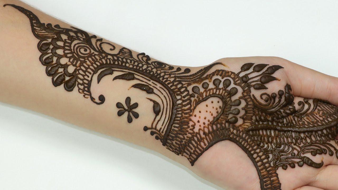 Mehndi Design Images : 12 easy mehndi designs for eid pk vogue