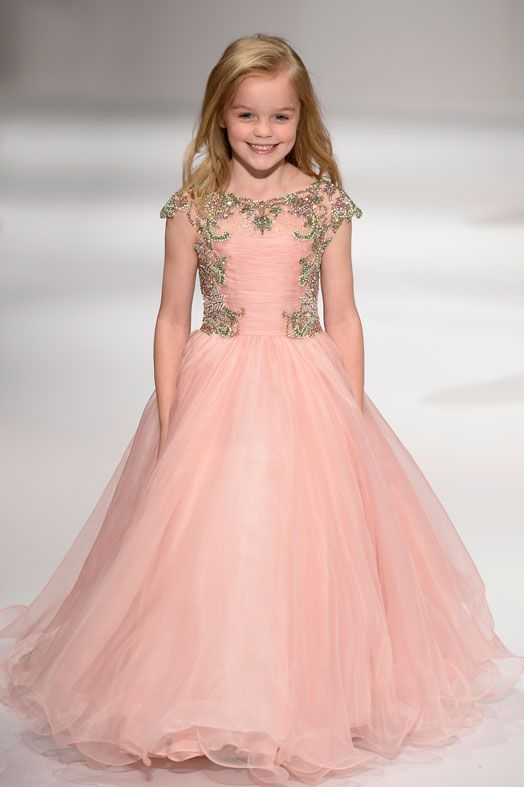 Magnificent Baby Girls Frocks Designs For Party Wear PK