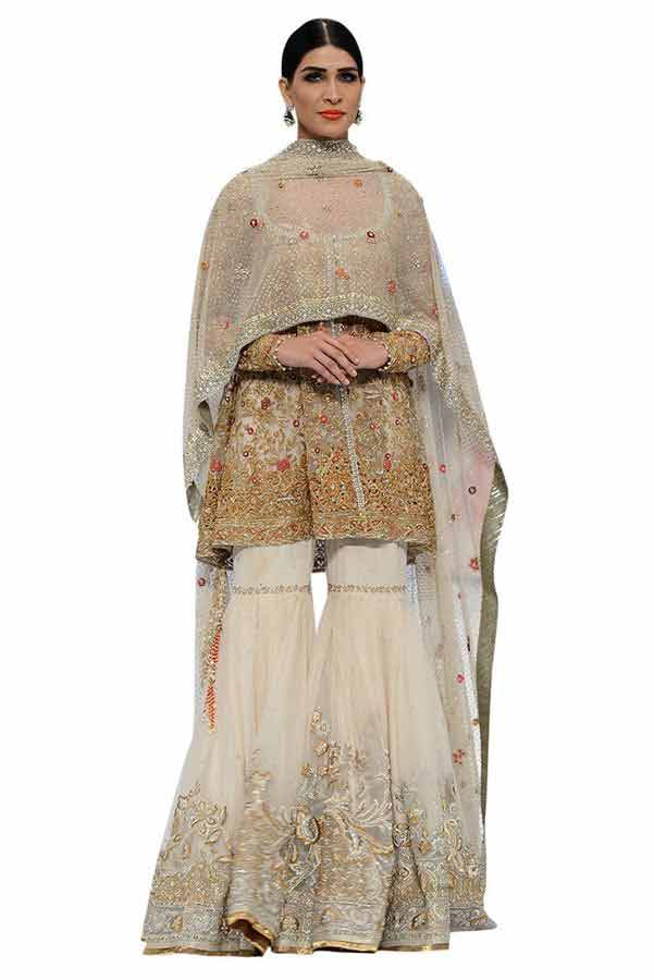 Latest Trend Of Sharara Latest Bridal Gharara Designs