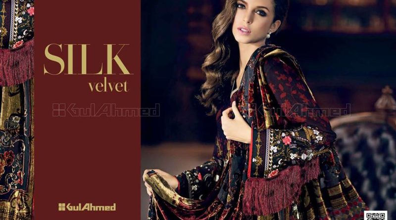 c12f308b56 Frist Look Gul Ahmed Winter Collection 2017-18