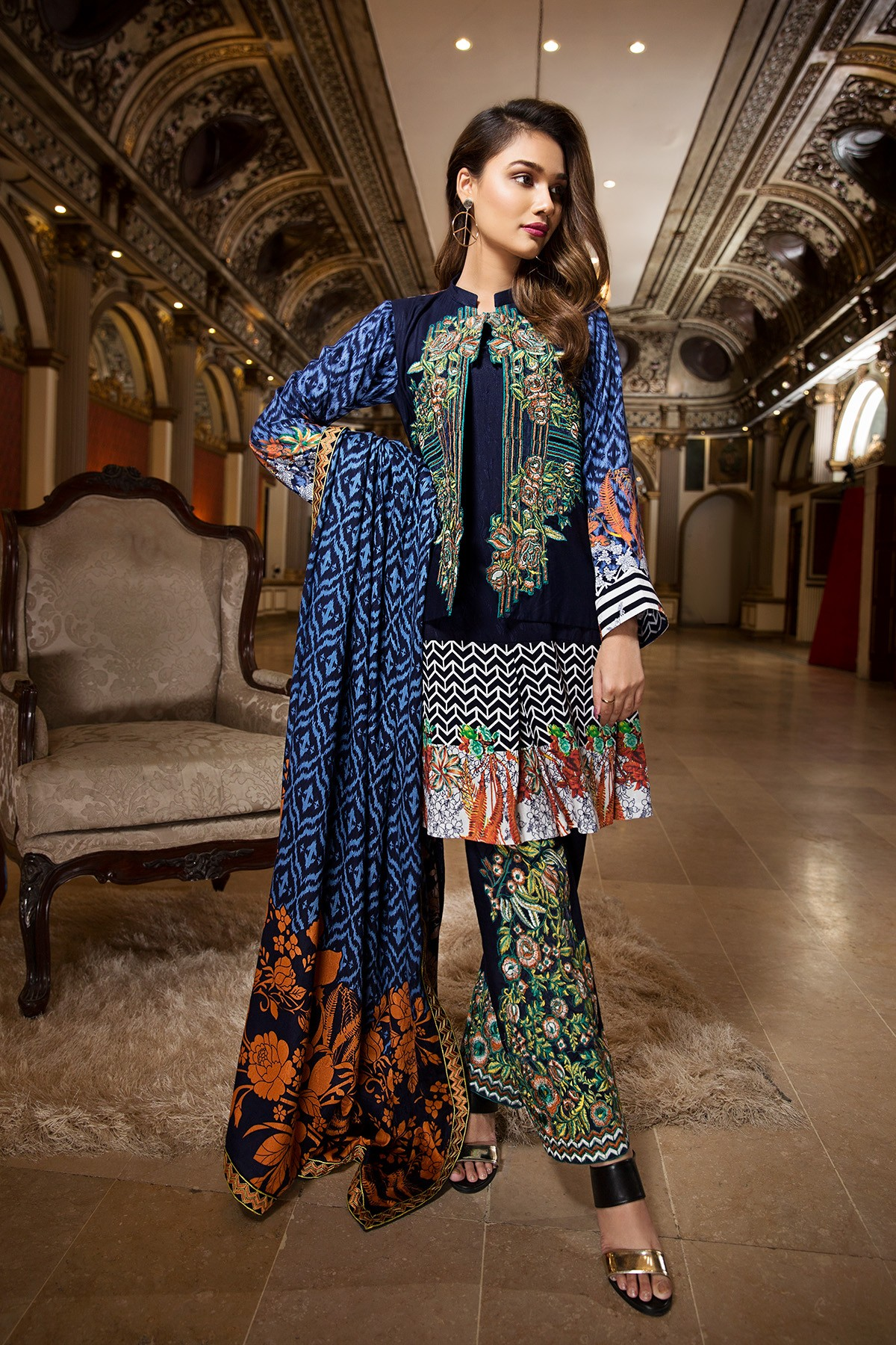 Ittehad Embroidered Winter Collection 2018 Pk Vogue