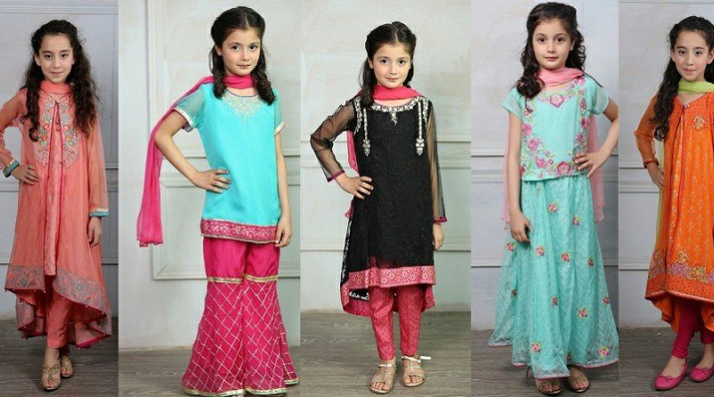 Stylish Formal Dresses For Baby Girls Pk Vogue