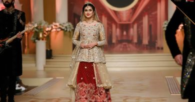 Asifa & Nabeel Bridal Collection At Bridal Couture Week 2017