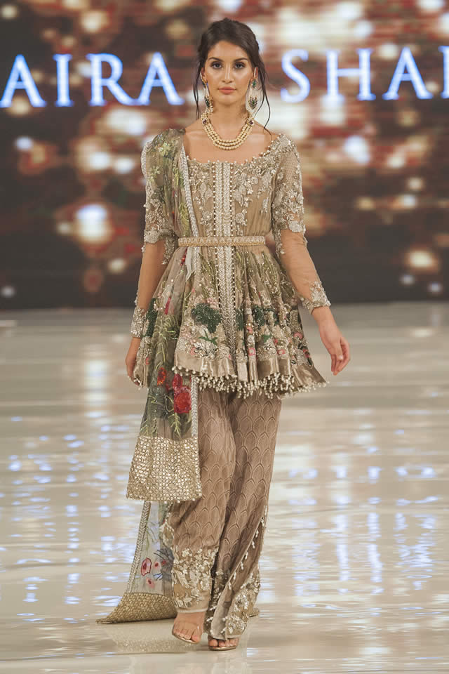 Saira shakira collection at pakistan fashion week london Fashion style in pakistan 2013