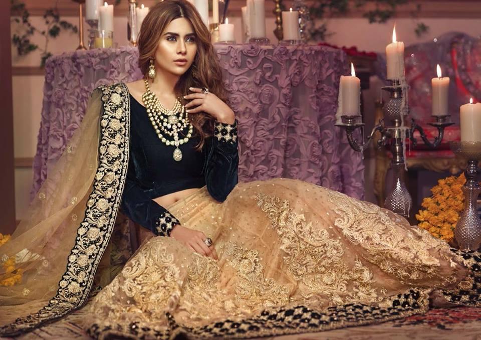 Mehndi Party Dresses 2018 : Zarqash chiffon collection latest party wear dresses pk vogue