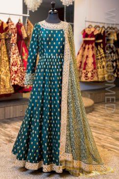Indian Party Wear Anarkali Frocks Designs 2018 - PK Vogue