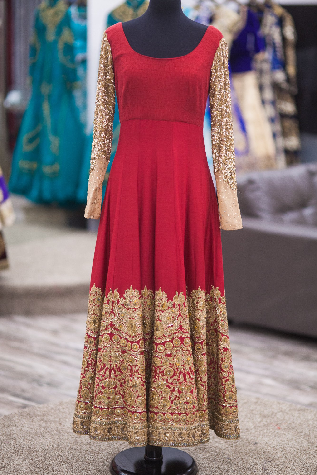 Indian Party Wear Anarkali Frocks Designs 2018 Pk Vogue