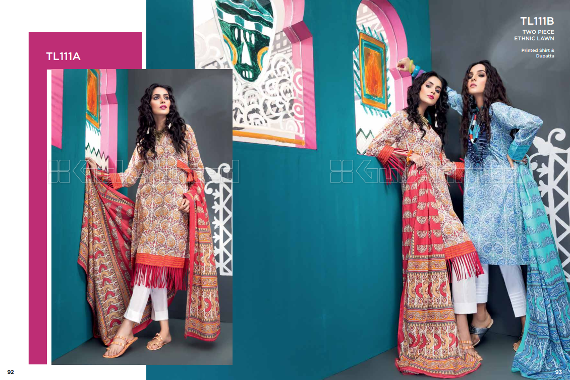 Gulahmed Lawn Collection 2018