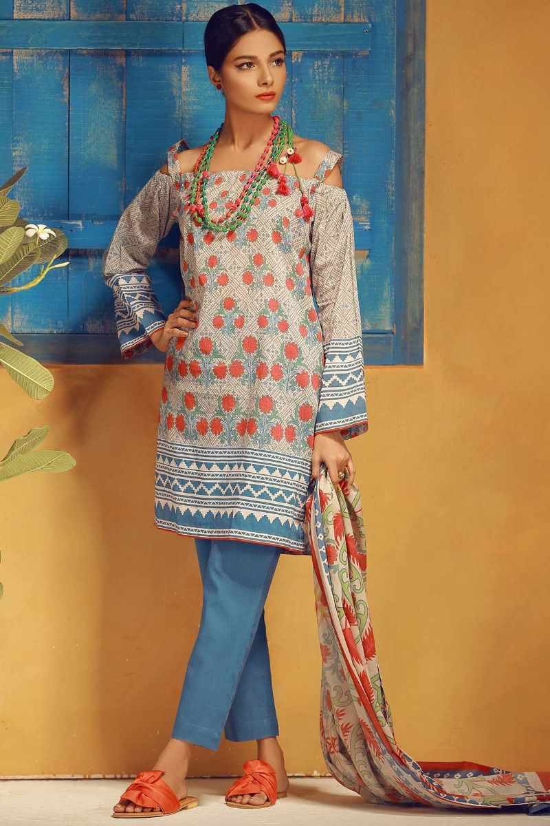 Khaadi Lawn Collection 2018