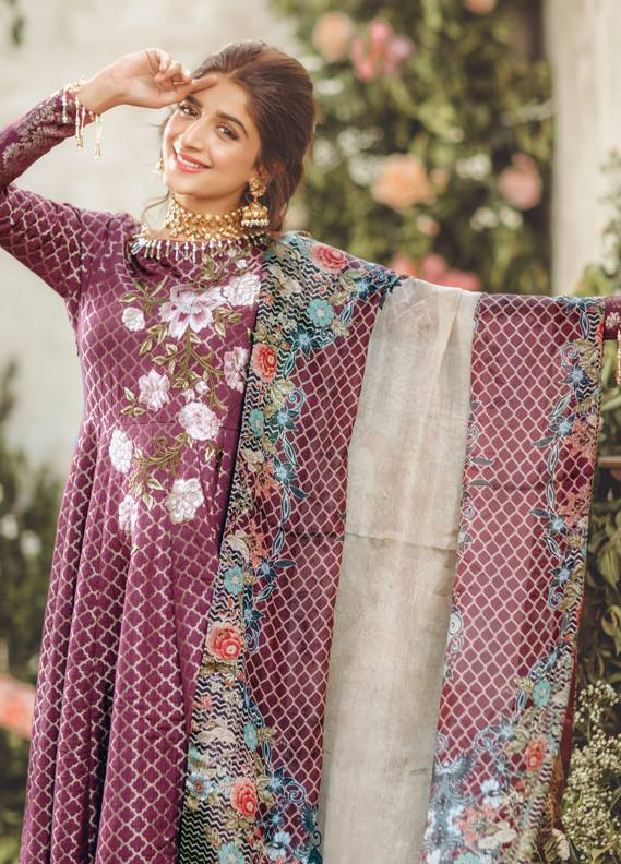 2e31fd7eb5 Noor By Saadia Asad Luxury Lawn 2018 - PK Vogue