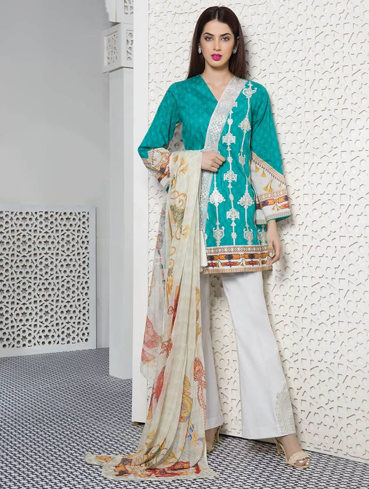 First Look Sapphire Spring Lawn Collection 2018 Pk Vogue