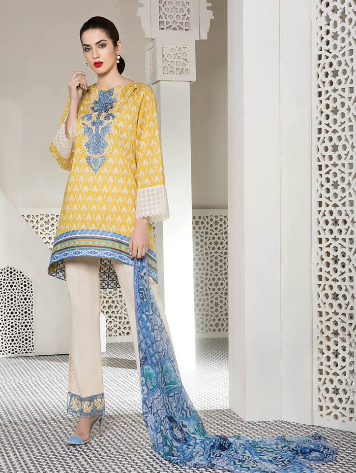 36876702ee First Look Gul Ahmed Summer Premium Collection 2018 Complete Catalog