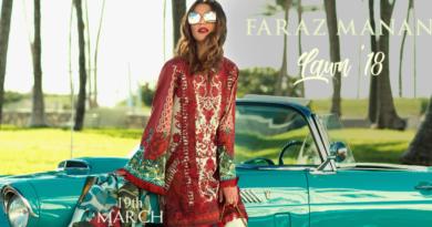 Faraz Manan Lawn Collection 2018