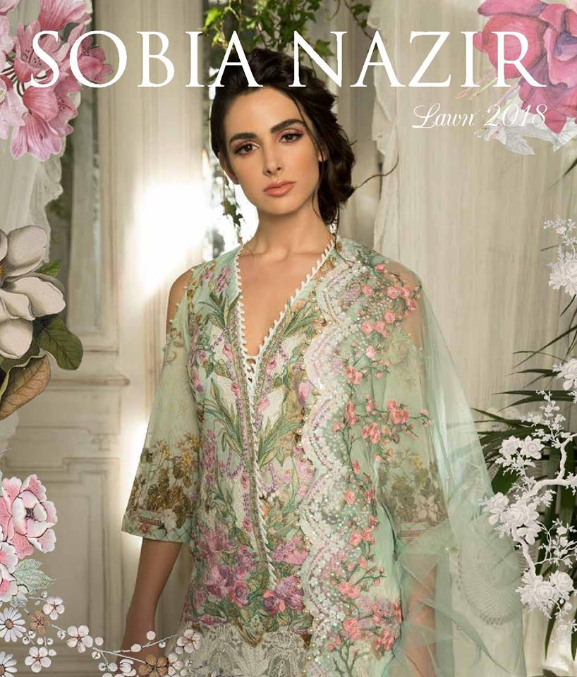 Sobia Nazir Lawn Collection 2018