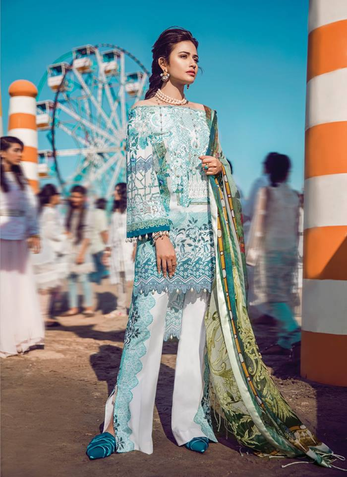 Epoque Suffuse Luxury Lawn 2018 By Sana Yasir