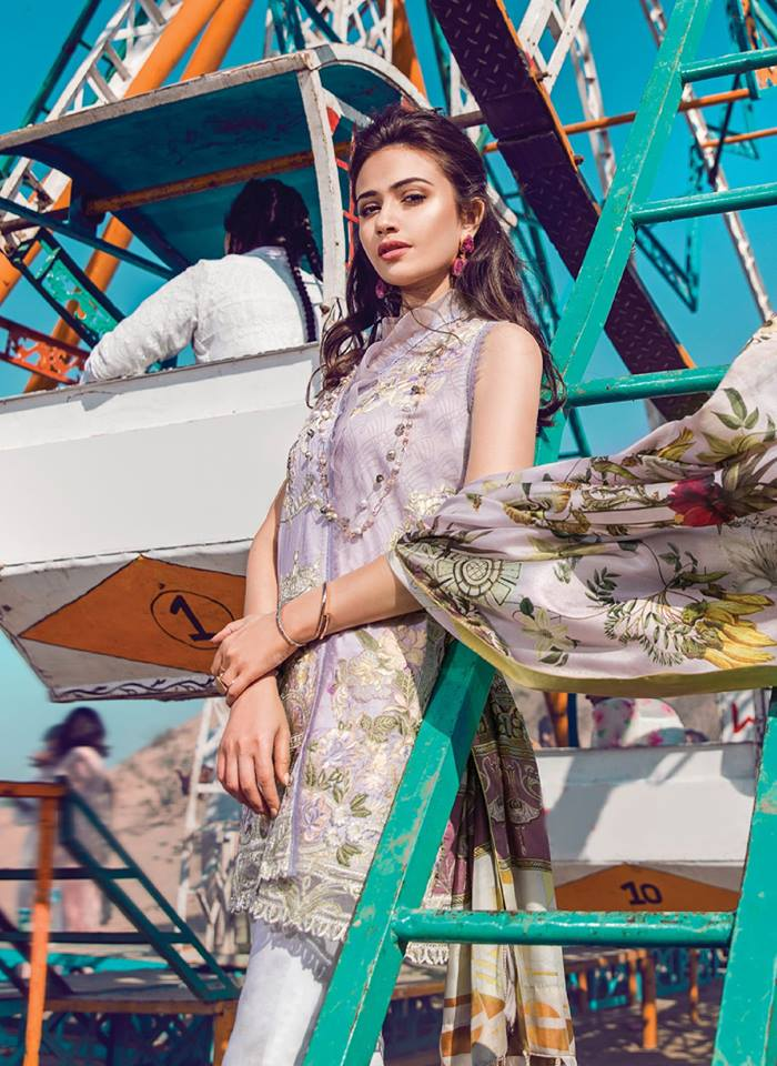 Epoque Suffuse Luxury Lawn 2018 By Sana Yasir