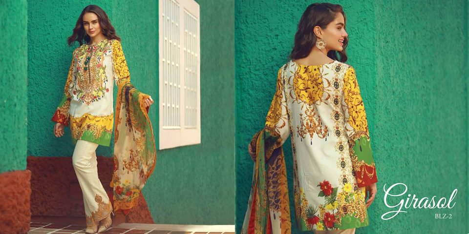 Belleza Luxury Lawn Collection 2018