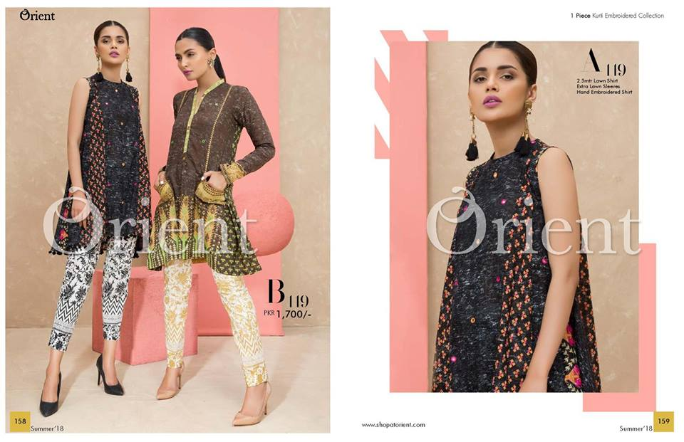 Orient Lawn Collection 2018 Vol-2