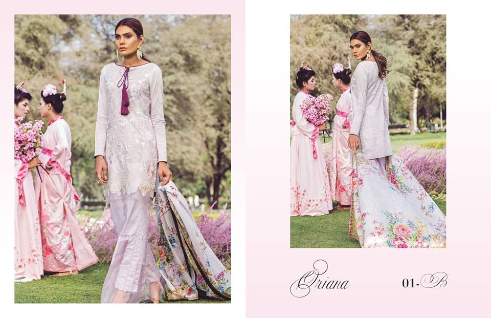 Qalamkar Lawn Collection 2018