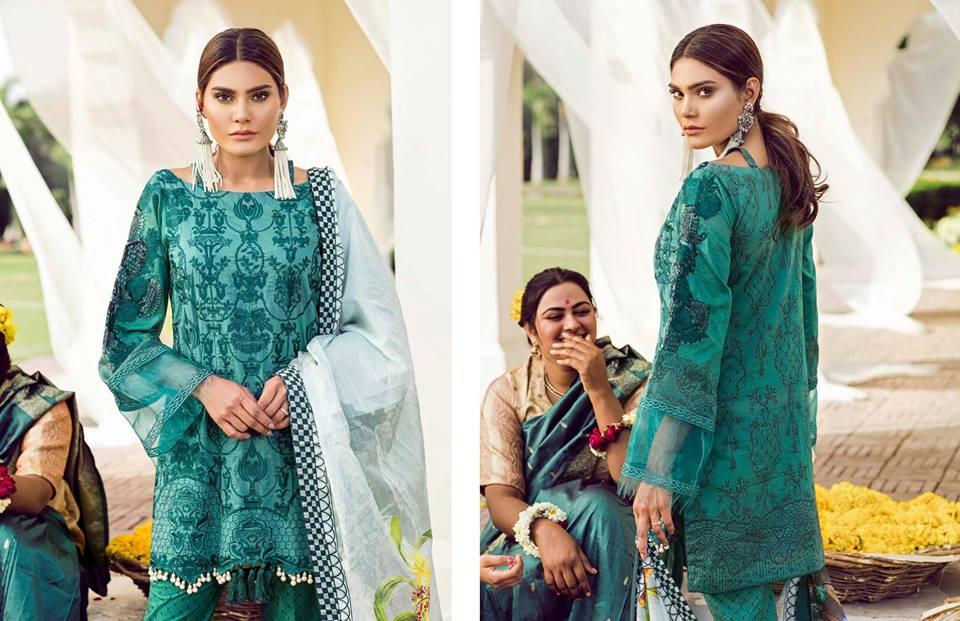 Qalamkar Lawn Collection 2018