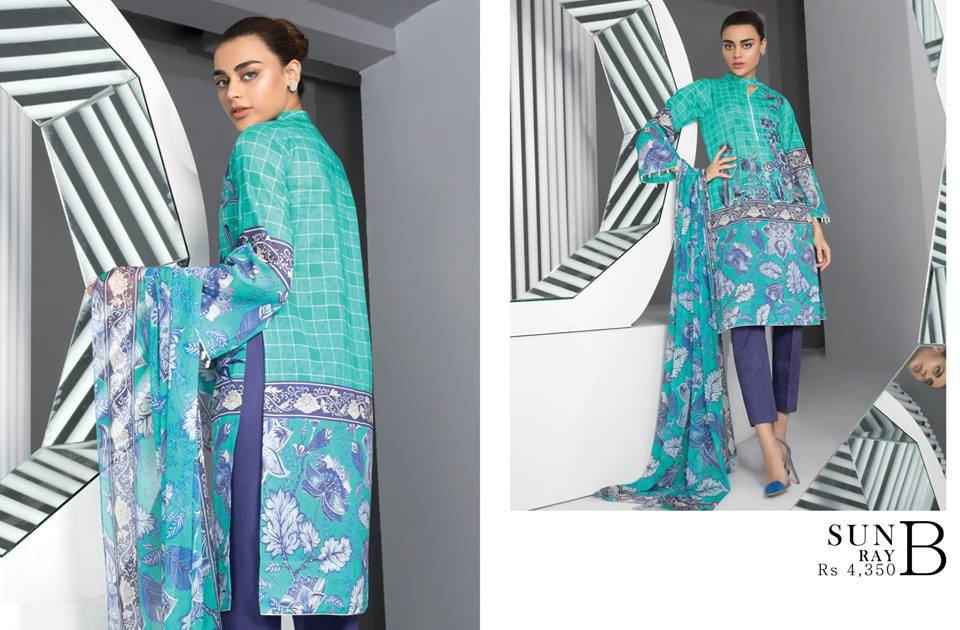 Sapphire Lawn Collection Vol-2