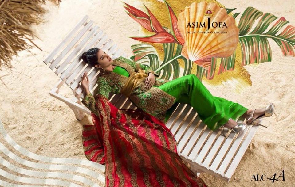 Asim jofa Luxury Chiffon Eid Collection