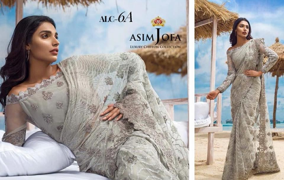 Asim jofa Luxury Chiffon Eid Collection