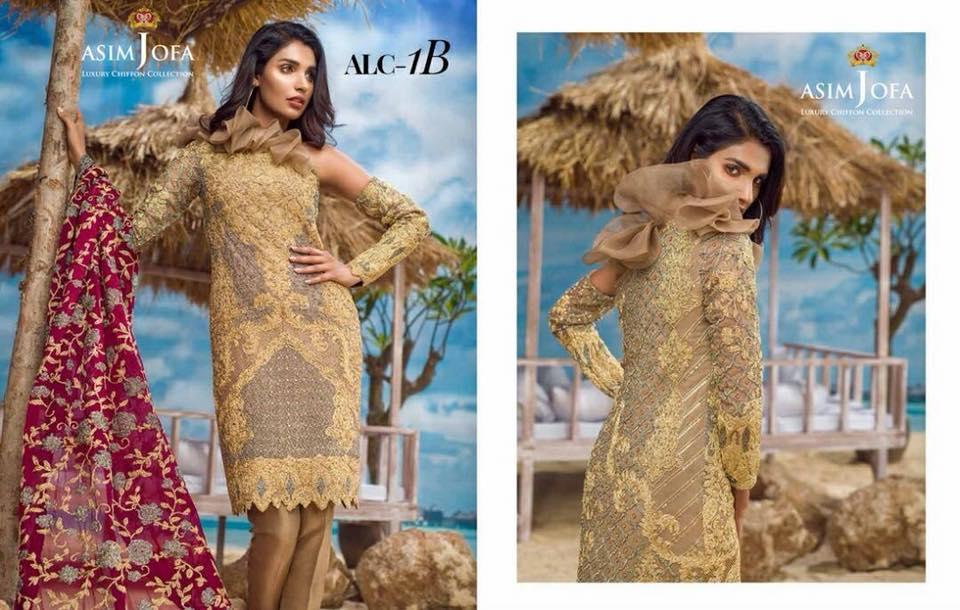Asim jofa Eid Collection 2018