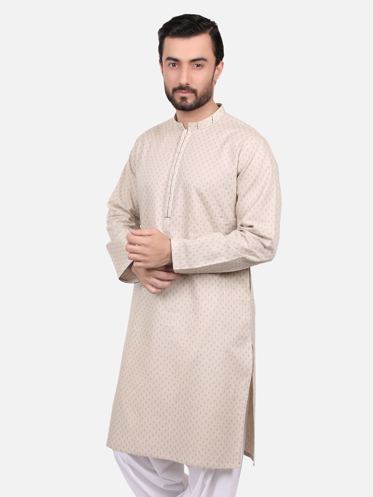 Edenrobe Men Kurta