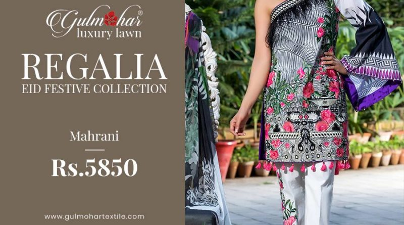 Regalia Luxury Eid Collection By Gulmohar Textile