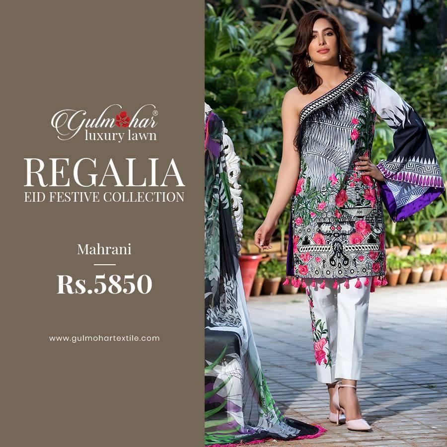 Regalia Luxury Eid Collection By Gulmohar Textile