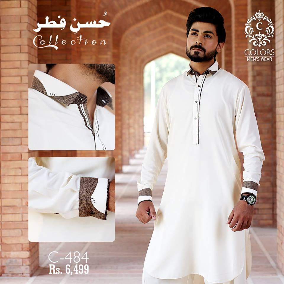27983b38bc Husn-E-Fitr Men Eid Kurta Collection 2018 By Colors – Online ...