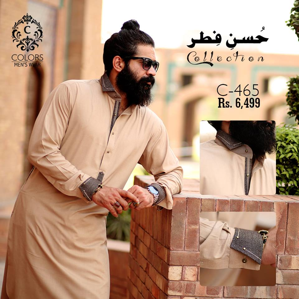 Men Eid Kurta Collection 2018 By Colors
