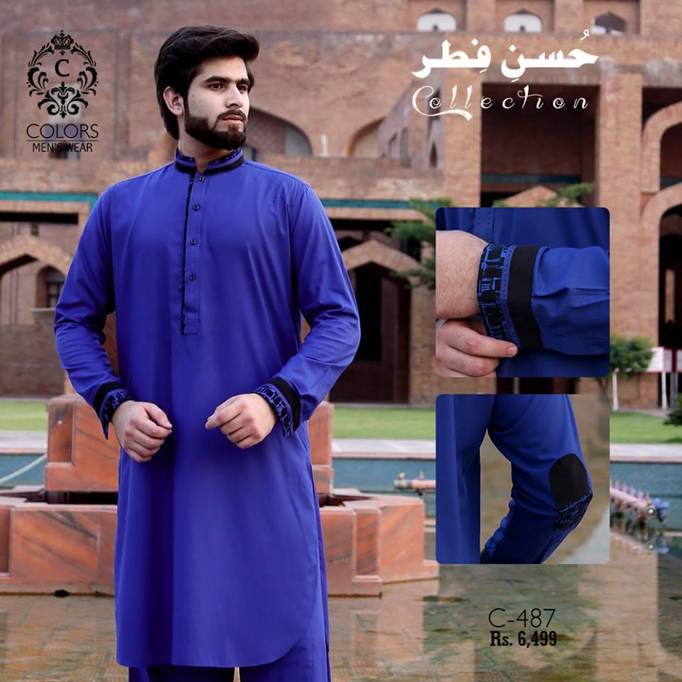 Men Eid Kurta Collection 2018 By Colors
