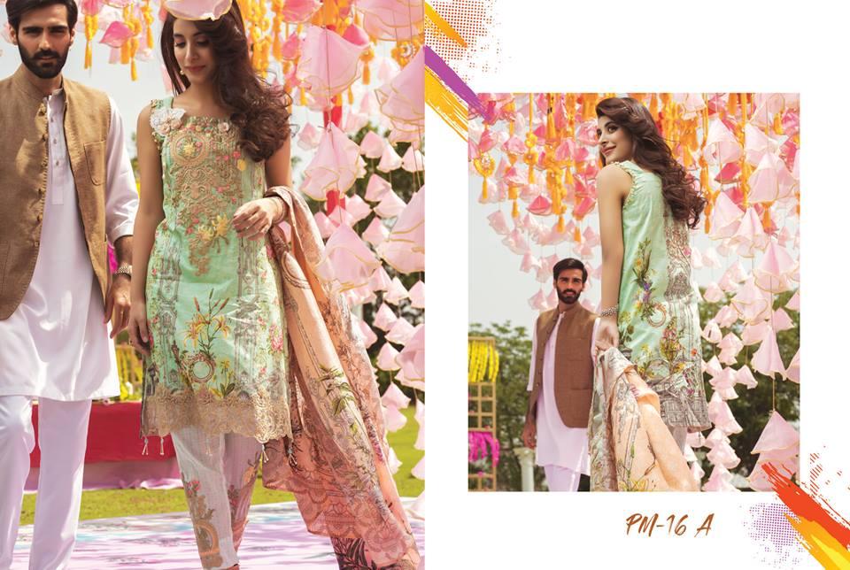 RANG RASIYA Premium Eid Lawn Collection 2018