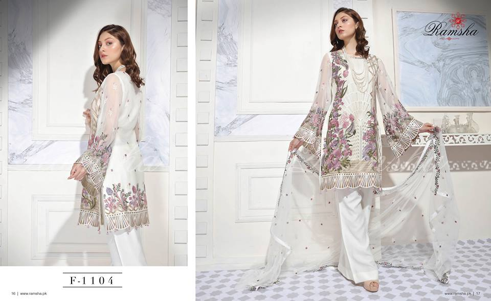 Ramsha vogue synergies collection 2018