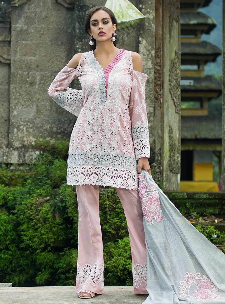 Zainab Chottani Chikankari Eid Festive Collection 2018