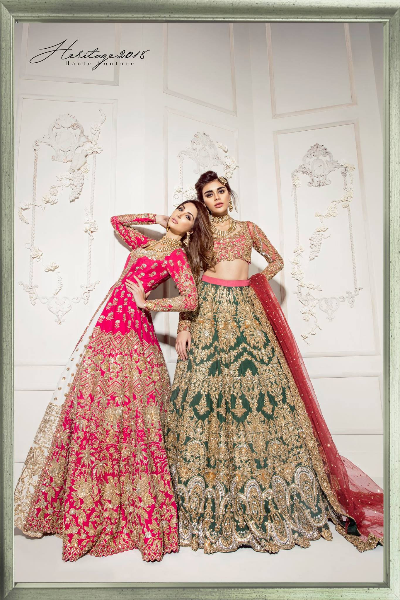 Heritage Couture Bridal Collection 2018-