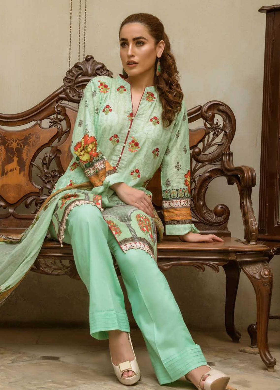 Kalyan lawn collection 2018-7