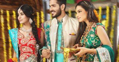 Latest Mehndi Dresses 2019 By Amna Ajmal