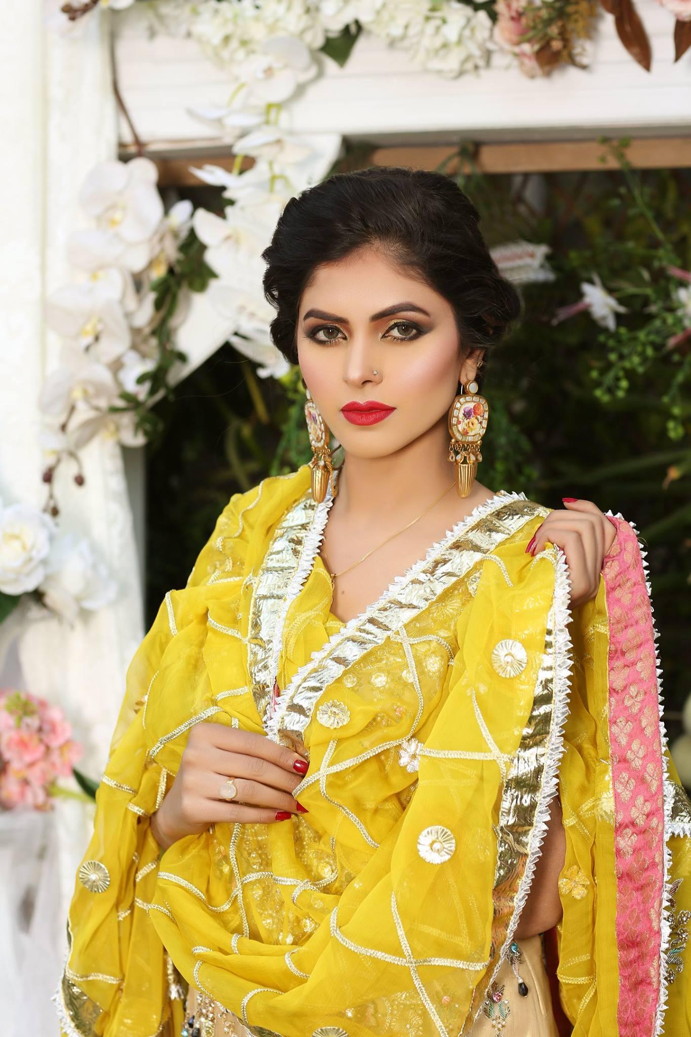 aa4d56800d Indian Mehndi Dress Design 2018