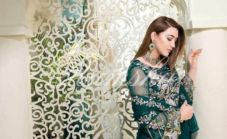 Ramsha House Of Glamour Chiffon Collection 2018-1