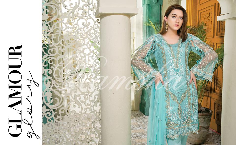 Ramsha House Of Glamour Chiffon Collection 2018-20